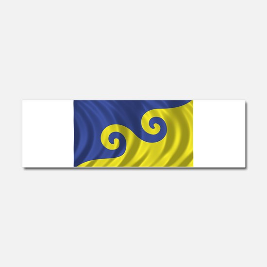 Dream Flag Car Magnet 10 x 3