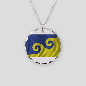 Dream Flag Necklace Circle Charm