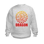 Tribal dragon 2 Kids Sweatshirt