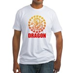 Tribal dragon 2 Fitted T-Shirt