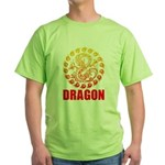 Tribal dragon 2 Green T-Shirt