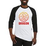 Tribal dragon 2 Baseball Jersey