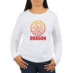 Tribal dragon 2 Women's Long Sleeve T-Shirt
