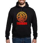 Tribal dragon 2 Hoodie (dark)
