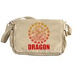 Tribal dragon 2 Messenger Bag