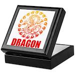 Tribal dragon 2 Keepsake Box