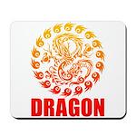 Tribal dragon 2 Mousepad