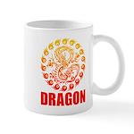 Tribal dragon 2 Mug
