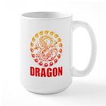 Tribal dragon 2 Large Mug