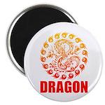 Tribal dragon 2 Magnet