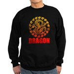 Tribal dragon 2 Sweatshirt (dark)