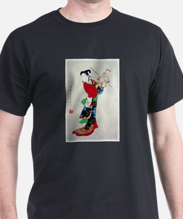 Woman with Puppet T-Shirt