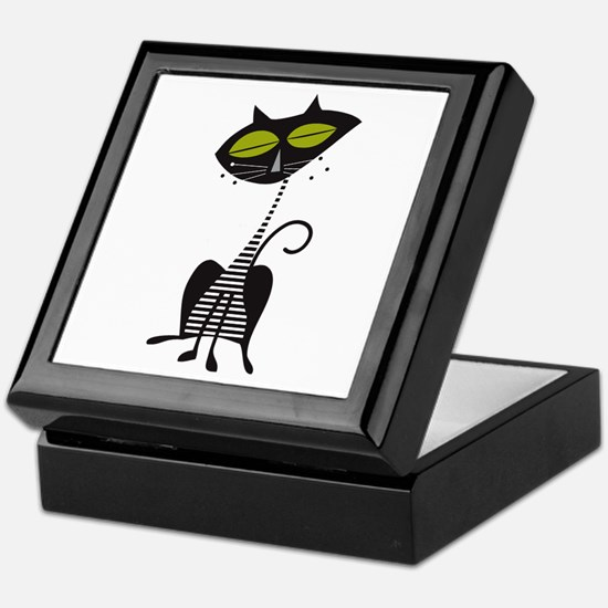 Cool Kitty Keepsake Box