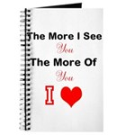 the more I see you Journal