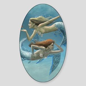 Siren Sisters Sticker (Oval)