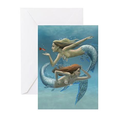 Siren Sisters Greeting Cards (Pk of 10)