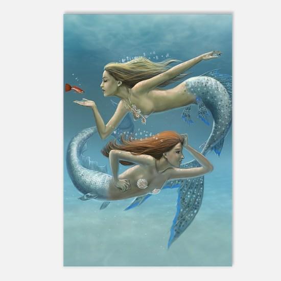 Siren Sisters Postcards (Package of 8)