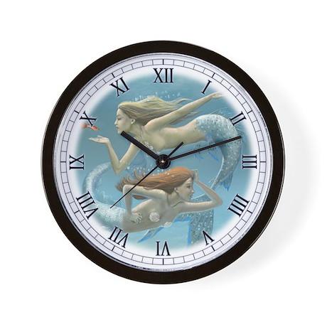 Siren Sisters Wall Clock