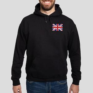 Union Jack UK Flag Hoodie (dark)
