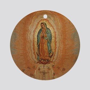 Our Lady of Guadalupe Keepsake (Round)
