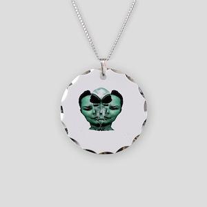 communion Necklace Circle Charm