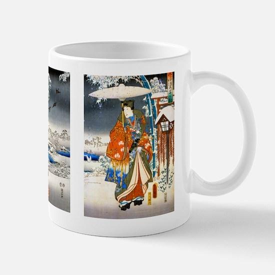 Viewing the Snow Triptich Mug
