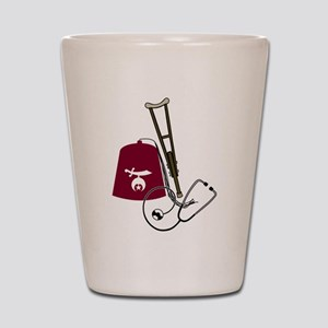 Shriners Care Shot Glass