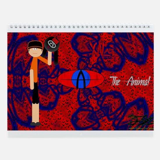 The Animal's Custom 12 Month Calendar