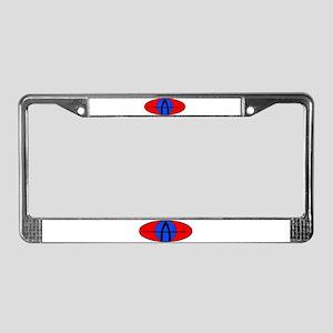 The Animal's Custom License Plate Frame