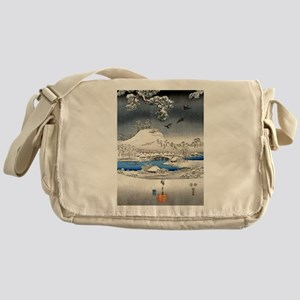Viewing the Snow (center) Messenger Bag