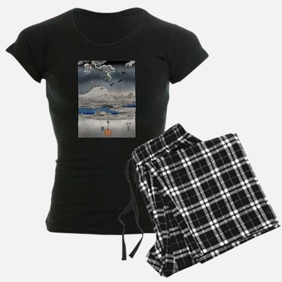 Viewing the Snow (center) Pajamas