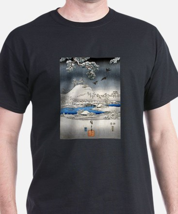Viewing the Snow (center) T-Shirt
