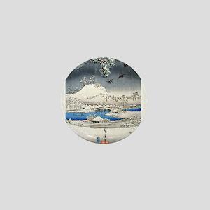 Viewing the Snow (center) Mini Button