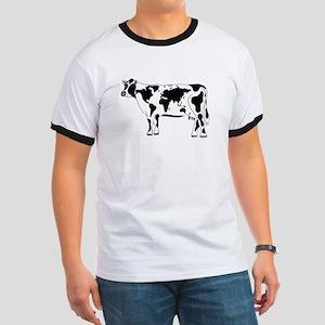 Cow Map Ringer T