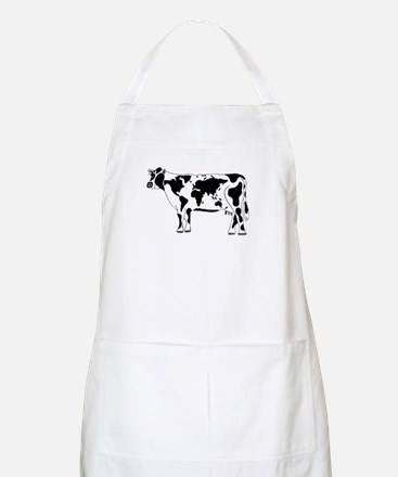 Cow Map Apron