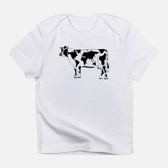 Cow Map Infant T-Shirt