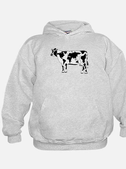 Cow Map Hoodie