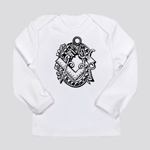 Ivy Square and Compasses Long Sleeve Infant T-Shir