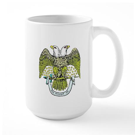 Scottish Rite Freemasonry Large Mug
