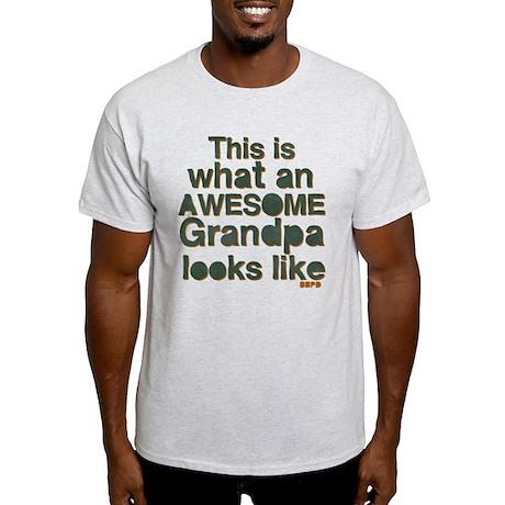 Awesome Grandpa Light T-Shirt