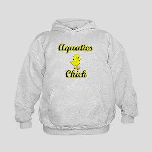 Aquatics Chick Kids Hoodie