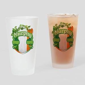 Murphy Shield Drinking Glass