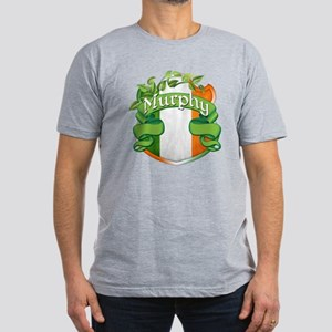 Murphy Shield Men's Fitted T-Shirt (dark)