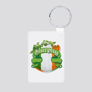 Murphy Shield Aluminum Photo Keychain