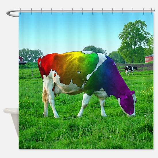 Unique Glbt Shower Curtain