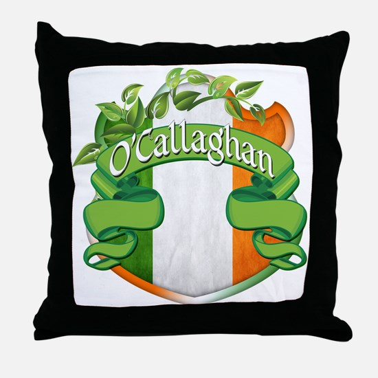 O'Callaghan Shield Throw Pillow