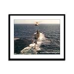 USS GEORGE WASHINGTON CARVER Framed Panel Print