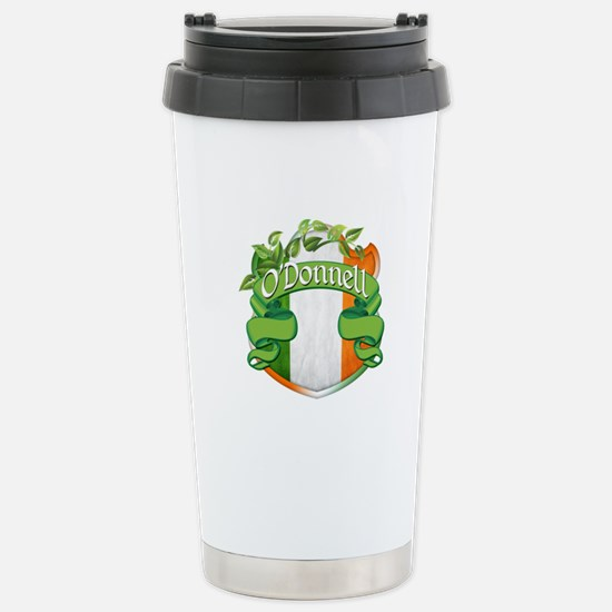 O'Donnell Shield Stainless Steel Travel Mug