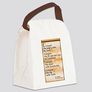 Conquer by Love Canvas Lunch Bag