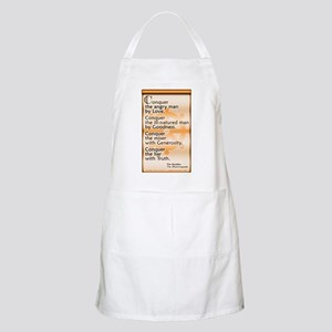Conquer by Love Light Apron